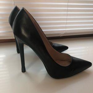 All Black Heels from Shoe Republic LA